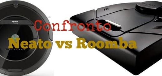 Confronto Neato VS Roomba