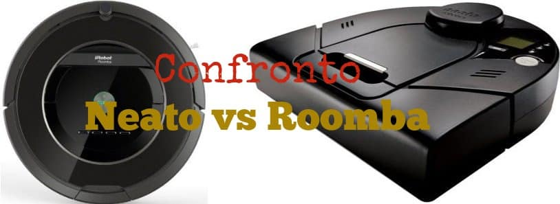 Confronto Neato VS Roomba