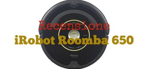 Recensione iRobot Roomba 650