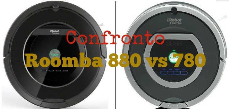 Confronto Roomba 880 vs 780
