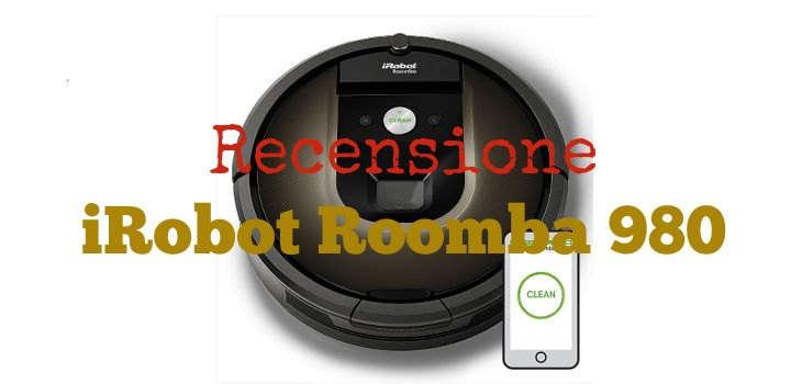 Recensione Roomba 980