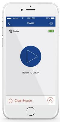 Neato Botvac Connected - applicazione smartphone