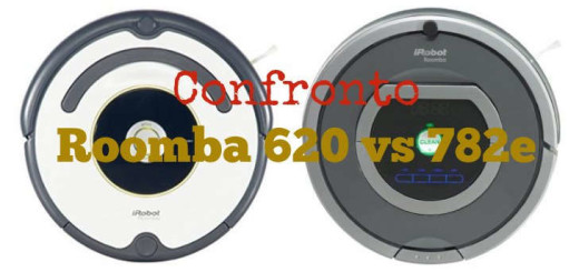 Confronto Roomba 620 vs Roomba 782e