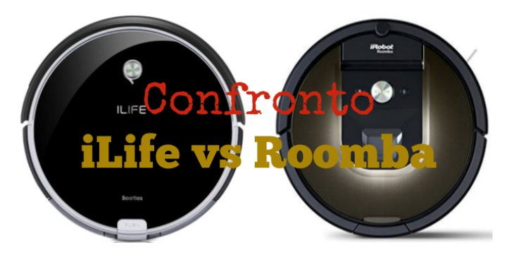 Confronto iLIFE vs Roomba