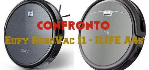 Confronto Eufy RoboVac 11 e ILIFE A4s