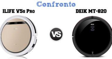 Confronto iLife V5s Pro e Deik MT-820, Quale Prendere?
