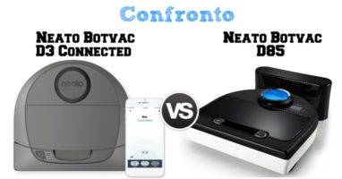 Confronto Neato Botvac D3 Connected e Botvac D85