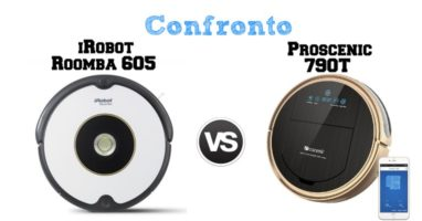 Confronto Roomba 605 e Proscenic 790T – Quale Acquistare?
