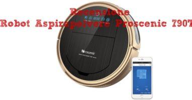 Proscenic 790T, un Robot Aspirapolvere Intelligente