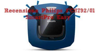 Philips FC8792/01 SmartPro Easy Robot Aspirapolvere Piccolo e Silenzioso