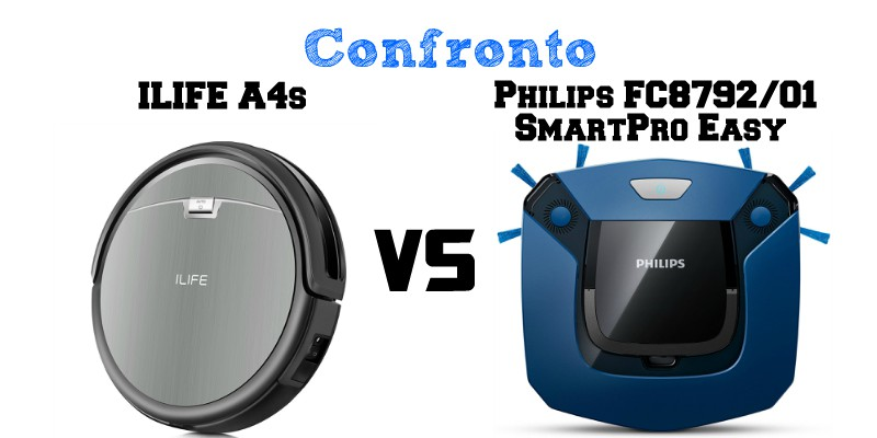 Confronto ILIFE A4s e Philips FC8792/01 SmartPro Easy