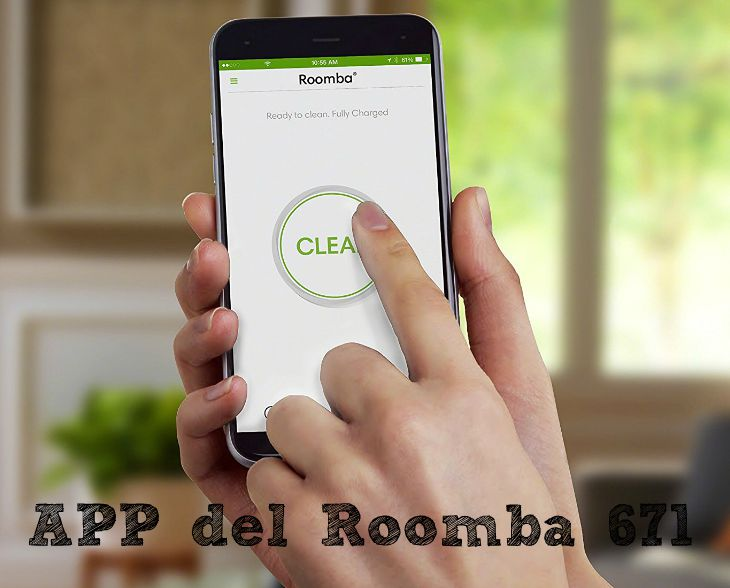 Recensione Roomba 671: APP