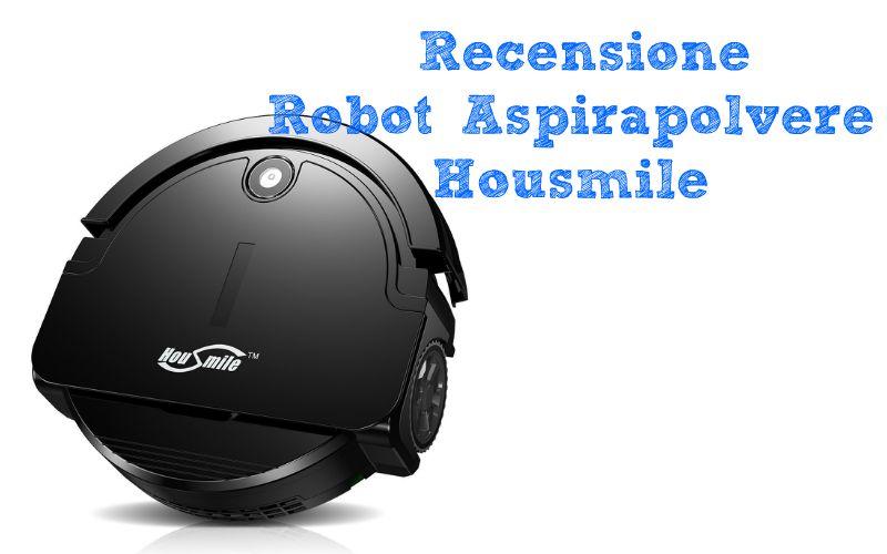 Recensione Housmile Robot Aspirapolvere