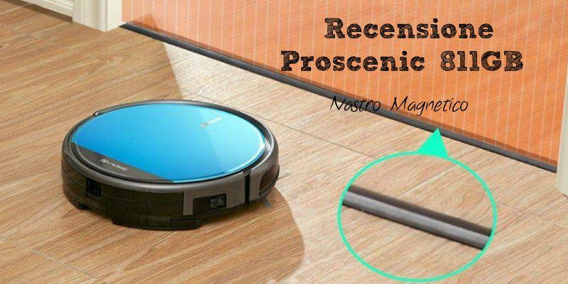 Recensione Proscenic 811GB: muro virtuale