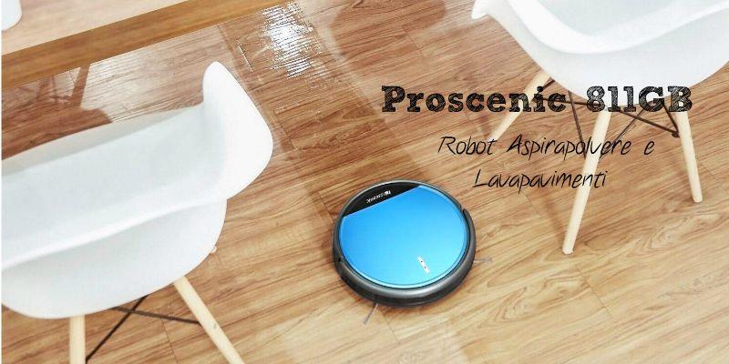 Recensione Proscenic 811GB: robot aspirapolvere e lavapavimenti