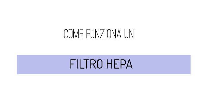Come funziona un filtro HEPA
